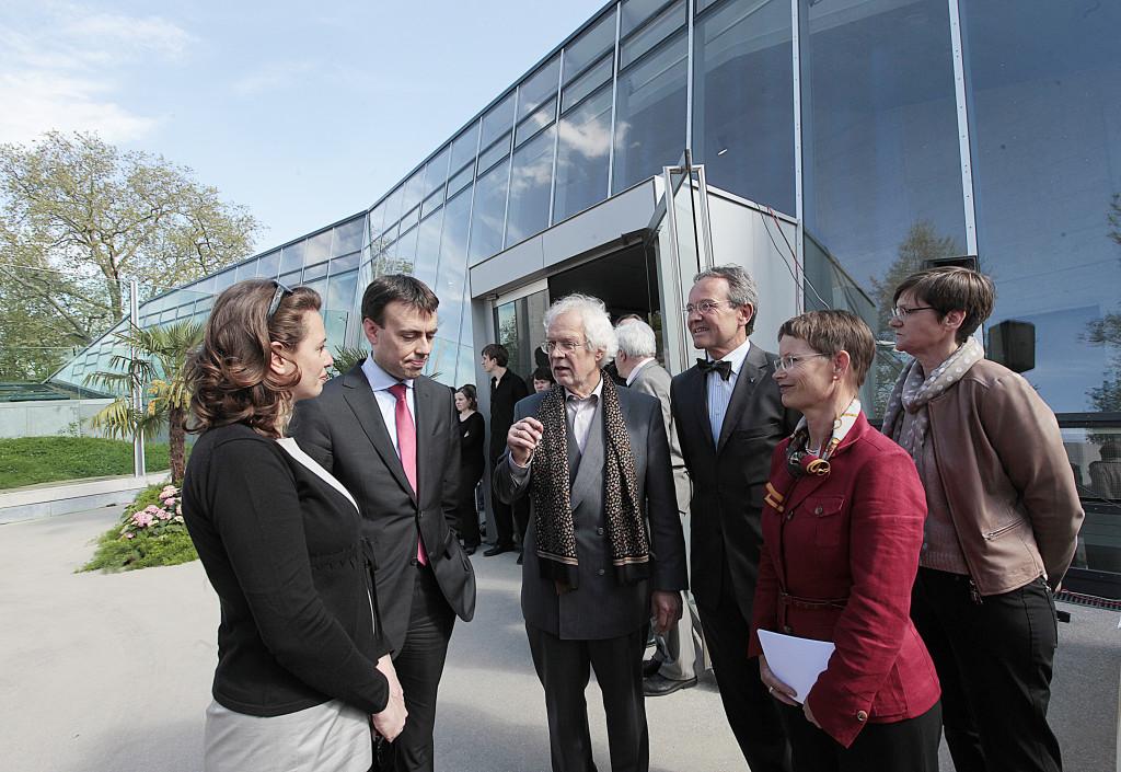 Am 14. Mai fand die feierliche Eröffnung des Hauses in Anwesenheit des Finanzministers Dr. Nils Schmid statt Bild: Wilhelma