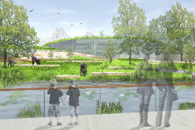 Perspektive Wassergraben Bild: Möhrle und Partner mit Hascher und Jehle Architektur
