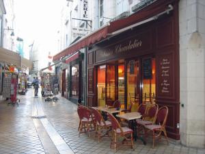 Einfach mal die Seele in einem Straßencafé baumeln lassen Bild: N. Warth