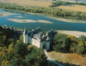 Chaumont liegt idyllisch hoch über der Loire Bild: N. Warth