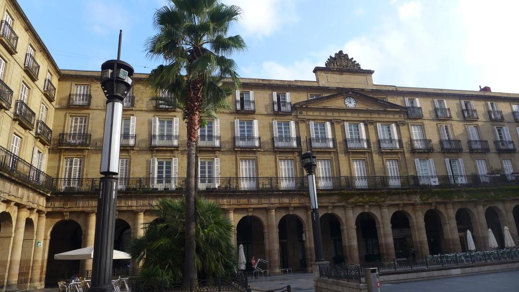 Plaza Nueva in Bilbao
