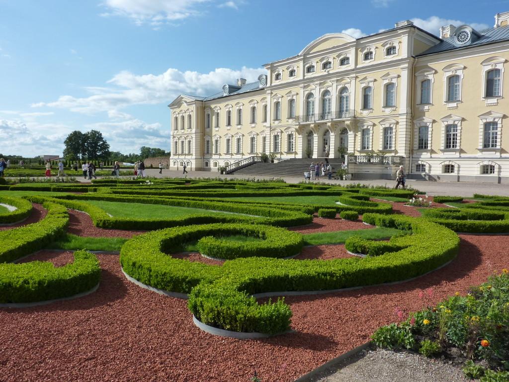 Schloss Rundale Bild: U. Tänzler