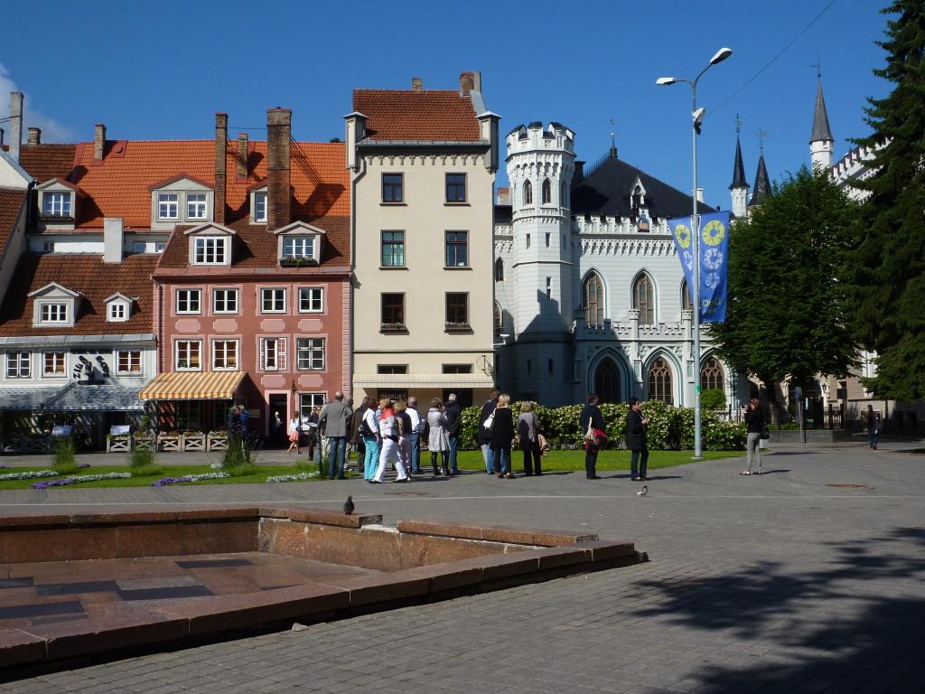 Stadtansicht Riga Bild: H. Wolf