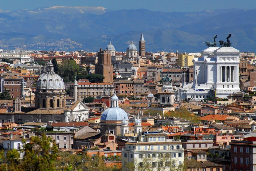 Panorama_veduta_dal-Gianicolo-verso_il_Vittoriano_01FQ