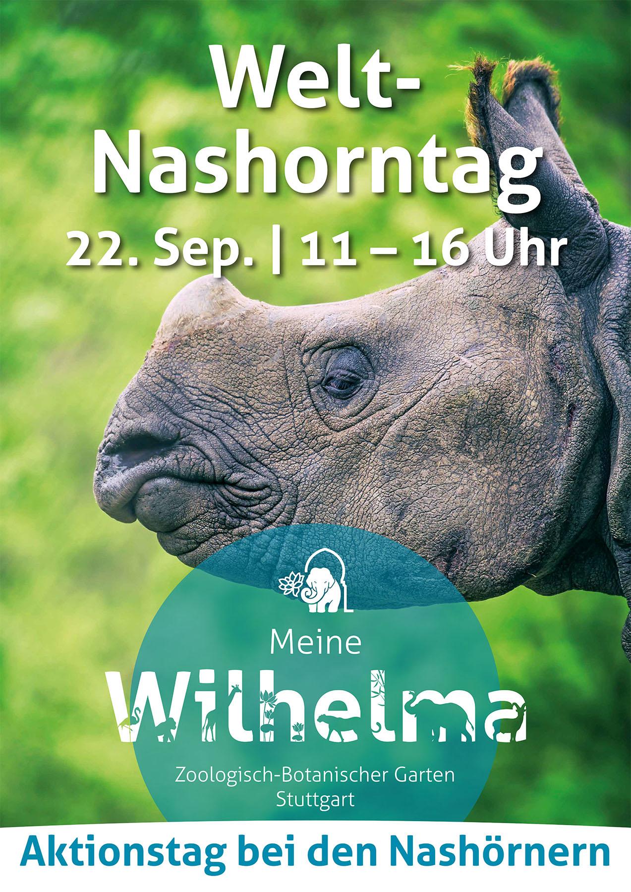 Aktionstag bei den Nashörnern